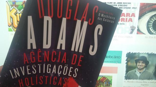 donna rita - na sua estante - agencia de investigações holísticas Dirk Gently - Douglas Adams