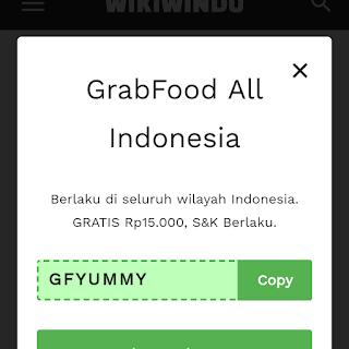 Kode promo grabfood Palembang 2020