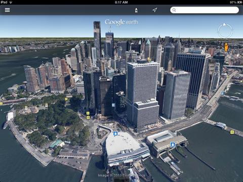 جوجل يقوم بتحديث تطبيق Google Earth لعرض المدن بشكل ثلاثي الأبعاد 3D