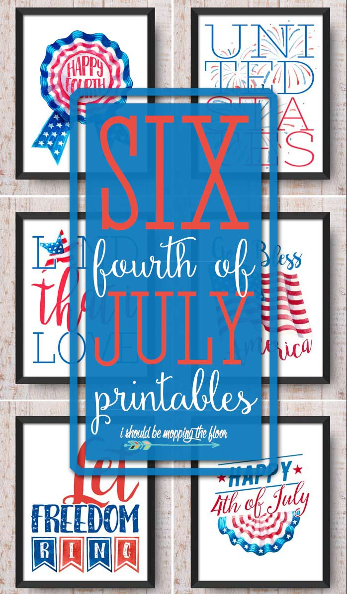 Vintage 4th of July Printables