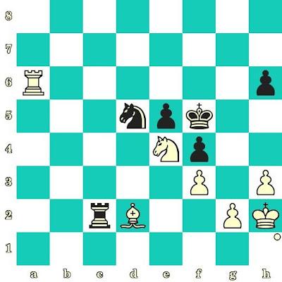 Les Blancs jouent et matent en 2 coups - Pia Cramling vs Ketevan Arakhamia-Grant, Batoumi, 2012