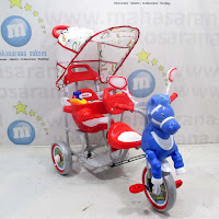 family kuda 2-seater baby tricycle