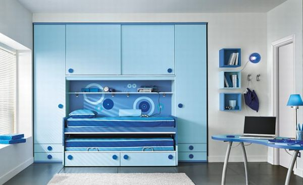 38 Minimalist Bedroom Designs Blue Color Full Of Creation And Inspiration