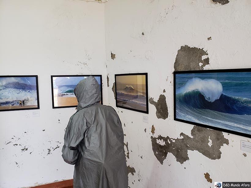 Exposição no Forte de São Miguel em Nazaré - Diário de Bordo: Fátima, Óbidos e Nazaré