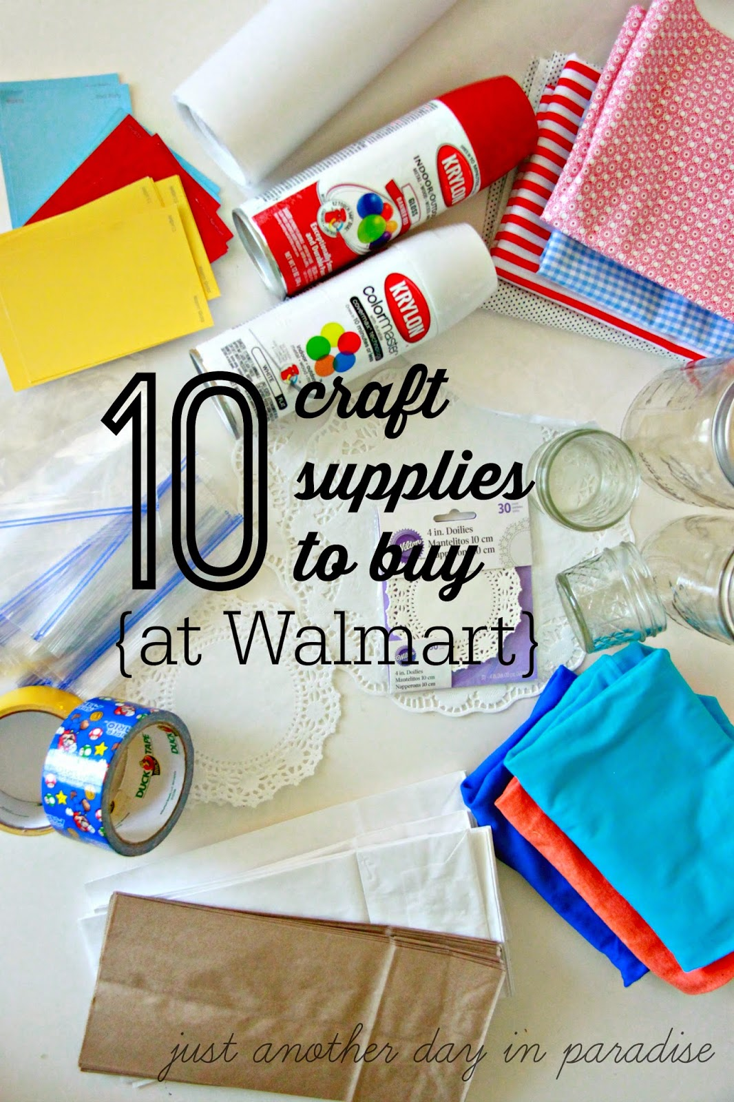 walmart craft supplies larissa another day ten craft supplies to buy at walmart 3199