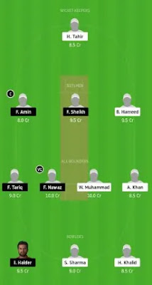DPS vs FPV Dream11 team prediction