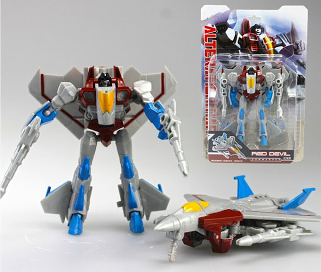 Starscream, Air Commander, Seeker, Red Devil, KO, Knock Off