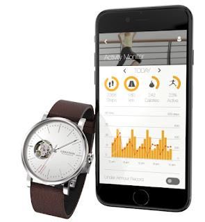 Montre Grayton Origin avec un bracelet connecté