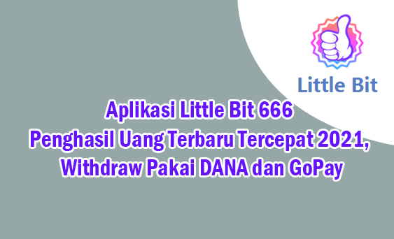 Tigaribu.Net – Awal tahun 2021 semakin banyak aplikasi penghasil uang terbaru yang dirilis dengan bayaran komisi sangat besar. Salah satu aplikasi penghasil uang terbaru dan tercepat di tahun 2021 adalah Aplikasi Little Bit 666.  Aplikasi Little Bit 666 mencari incaran banyak orang karena membayar komisi dengan nominal sangat besar untuk setiap tugas yang diberikan. Cara menggunakan Aplikasi Little Bit 666 pun sedang banyak dicari, begitu juga cara menghasilkan uang dari Aplikasi Little Bit 666.  Buat Anda yang penasaran Apa Itu Aplikasi Little Bit 666, silahkan baca terus penjelasan dari review Aplikasi Little Bit 666 pada artikel ini.   Aplikasi Little Bit 666, Apa Itu ?    Little Bit 666 adalah aplikasi penghasil uang terbaru 2021 yang bisa withdraw pakai DANA dan GoPay untuk melakukan penarikan uang tunai yang telah terkumpul di saldo member.  Aplikasi Little Bit 666 masih baru rilis dan sudah banyak yang tertarik menggunakannya. Sebelum Anda ketinggalan sebaiknya coba saja menggunakan Aplikasi Little Bit 666 karena ada kesempatan untuk menggunakan Aplikasi Little Bit 666 dengan member gratis  Menggunakan Aplikasi Little Bit 666 versi gratisan tidak terlalu membuat Anda rugi jika Aplikasi Little Bit 666 SCAM suatu saat nanti karena Anda tidak perlu mengeluarkan Modal untuk menggunakan aplikasi penghasil uang yang bisa withdraw pakai DANA dan GoPay ini.  Misi Aplikasi Little Bit 666 Penghasil Uang Misi Aplikasi Little Bit 666 mirip dengan aplikasi penghasil uang Praise 666 Apk yang sudah saya review di artikel sebelumnya. Misi Aplikasi Little Bit 666 diberikan kepada Anda sebanyak dua kali dalam sehari.  Misi Aplikasi Little Bit 666 yang wajib diselesaikan yaitu memberilakn like dan follow pada media sosial Instagram, TikTok, Facebook, dan Youtube.  Masing – masing misi yang Anda kerjakan di Aplikasi Little Bit 666 dibayar 5.000 rupiah, sehingga Anda dapat menghasilkan uang dari Aplikasi Little Bit 666 sebanyak 10.000 rupiah dalam sehari.  Daftar Akun Aplikasi Li