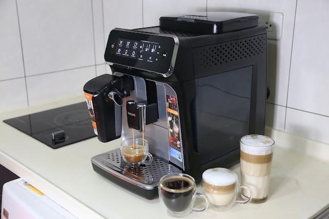 [生活] [家電] PHILIPS 飛利浦 Omnia EP3246 全自動義式咖啡機開箱心得 + 淺口袋方案介紹;創新 LatteGo 奶泡系統享受更簡單的雲朵咖啡體驗
