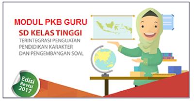 Download Modul PKB Guru SD Kelas Atas/Tinggi Tahun 2017
