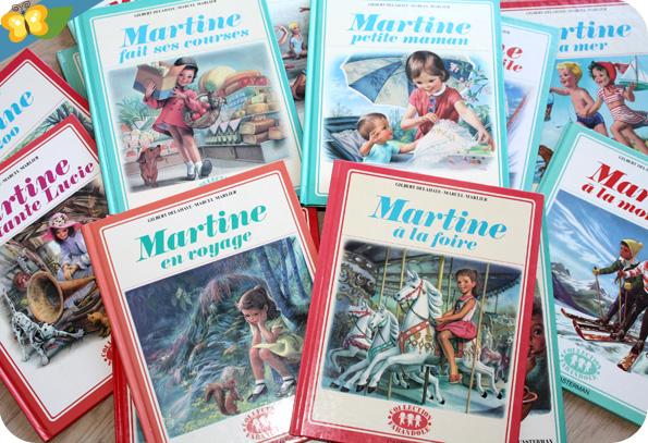 Collection livres Martine vintage - casterman