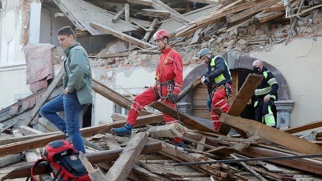 Άμεση συνδρομή της Ελλάδας στην σεισμόπληκτη Κροατία
