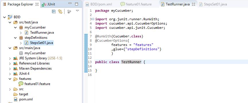 BDD with cucumber-Java Part-2