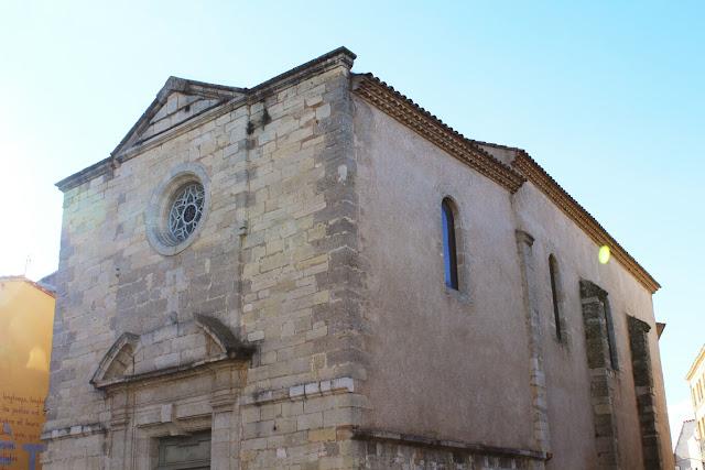 felip costes chapelle des pénitents bleus Fanny pallaro