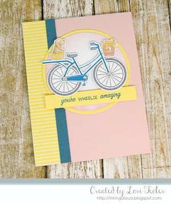 Wheelie Amazing card-designed by Lori Tecler/Inking Aloud-stamps and dies from SugarPea Designs