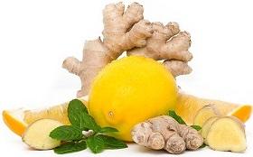 الزنجبيل والليمون للتنحيف