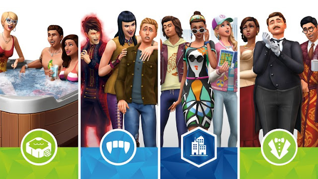 نسخة المنصات المنزلية للعبة The Sims 4 ستقدم المزيد من التوسعات الإضافية