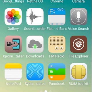 Cara Merubah Tampilan Andromax C3 Menjadi iPhone [Custom ROM]