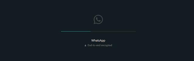 cara aktifkan mode gelap whatsapp dekstop