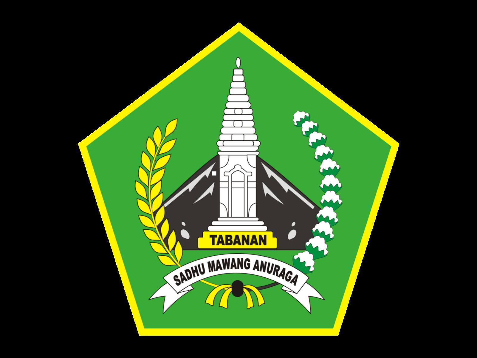 Logo Kabupaten Tabanan Format PNG