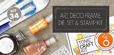 Tonic Studios Craft Kit 34 - Deco Art Frames