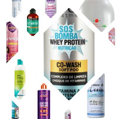 produtos para cowash
