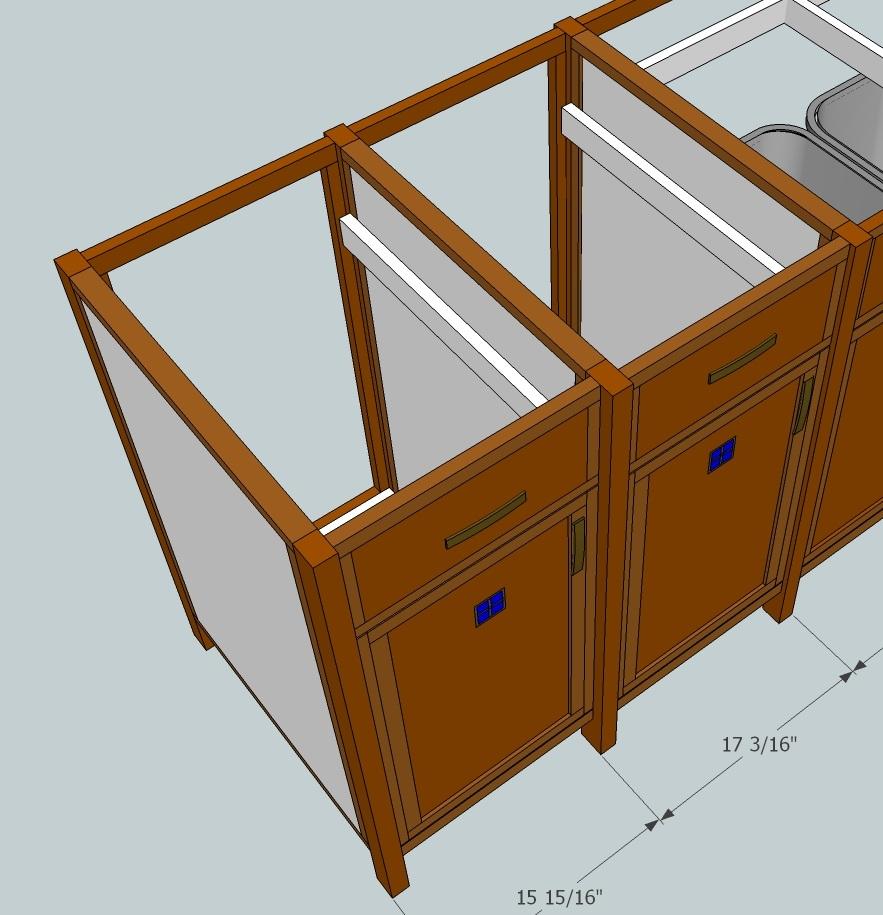 Fine Wood Finishing: Kitchen cabinet preparation