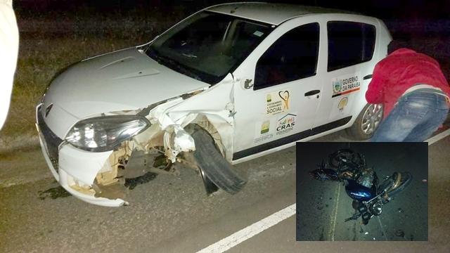 Vídeo: Adolescente de 16 anos morre após acidente de moto, em Boqueirão, na Paraíba