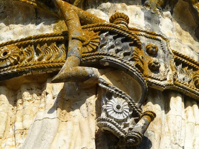 Detalle Iglesia del Convento de Cristo, Tomar