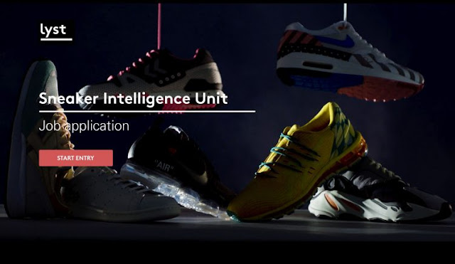 Lyst Sneaker Intelligence Unit