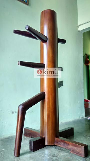 Mok Yan Jong / Wooden Dummy / Boneka Kayu Wing Chun