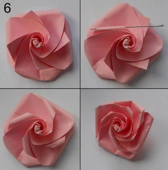 Tips and tricks for making paper flowers