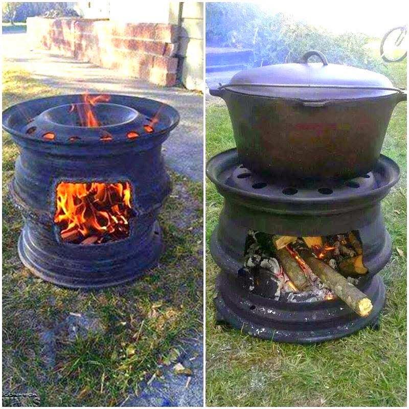 r cup et fait maison id e r cup faire un barbecue avec des objets r cup. Black Bedroom Furniture Sets. Home Design Ideas