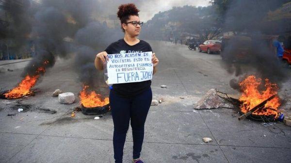 Un muerto y varios heridos en jornadas de protestas en Honduras