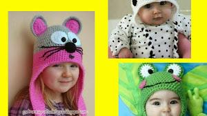 Cómo tejer un gorro con orejeras al crochet - 3 diseños