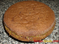 Full cake out of the mould