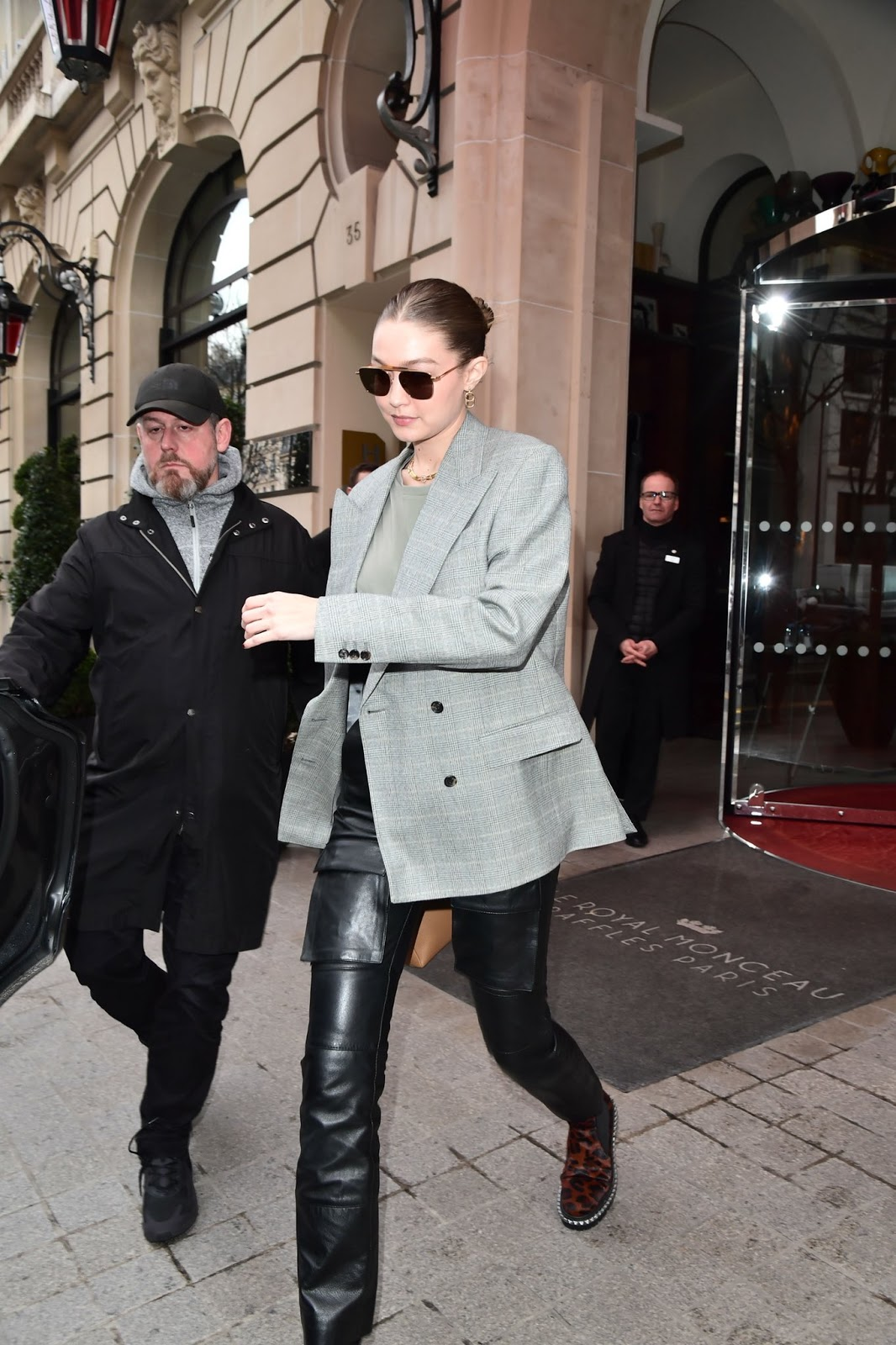 Gigi Hadid nails androgynous chic out and about in Paris