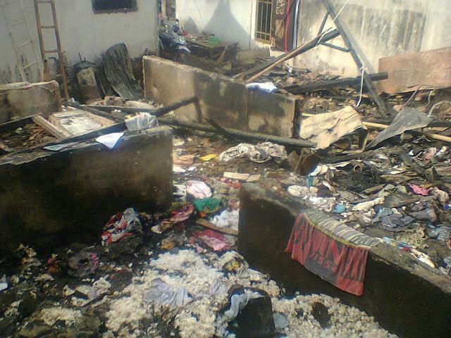 Korban Rumah Kebakaran di Pakusari