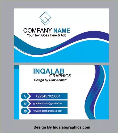 latest business card design free download