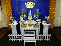 Decoração de festa infantil Príncipe Porto Alegre