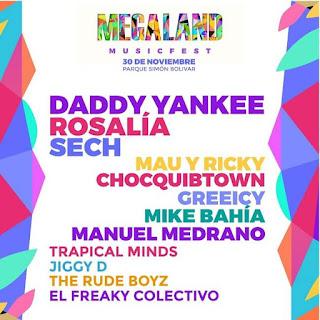 Festival MEGALAND 2019 | Parque Simon Bolivar