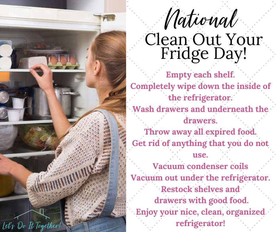 National Clean Out Your Fridge Day Wishes Lovely Pics