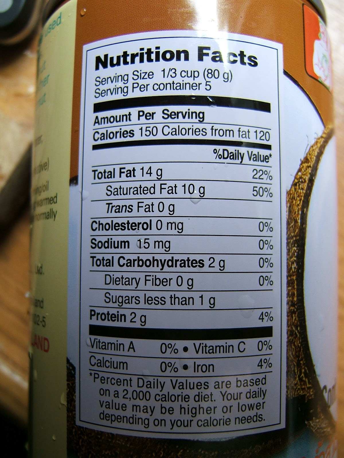 Canned Coconut Milk Ingredients