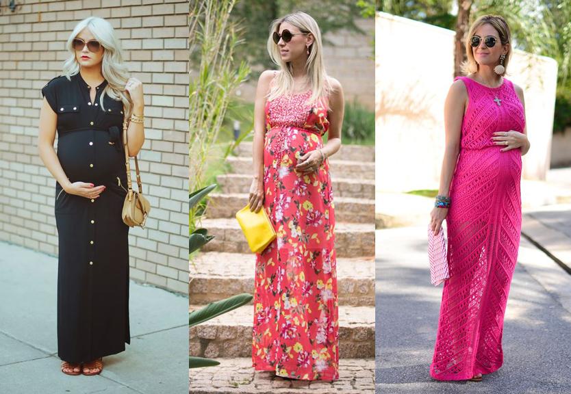 Moda para Gestante: Looks Divos Para te Inspirar