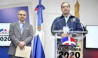 """La Junta Central Electoral (JCE) eliminó del sistema de voto automatizado la opción """"No deseo Votar"""""""