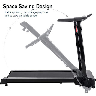 Merax JK103A Treadmill, space-saving folding design, image, features & specifications reviewed