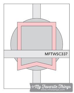 Sketch Challenge 337 #mftstamps