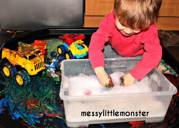 toy car wash activity for kids