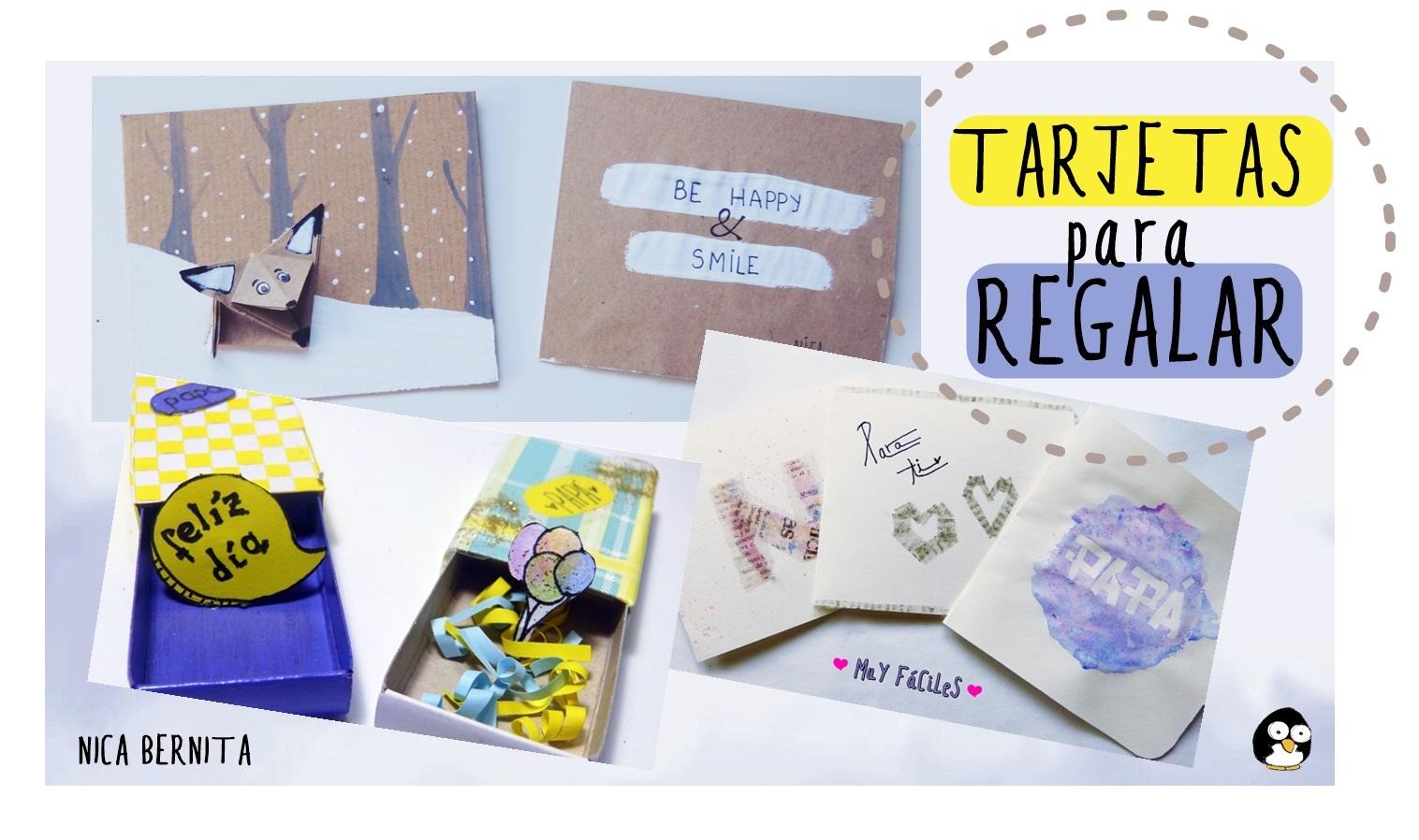 tarjetas para regalar postales hechas a mano da del padre nica bernita with faciles para regalar with como hacer faciles para regalar